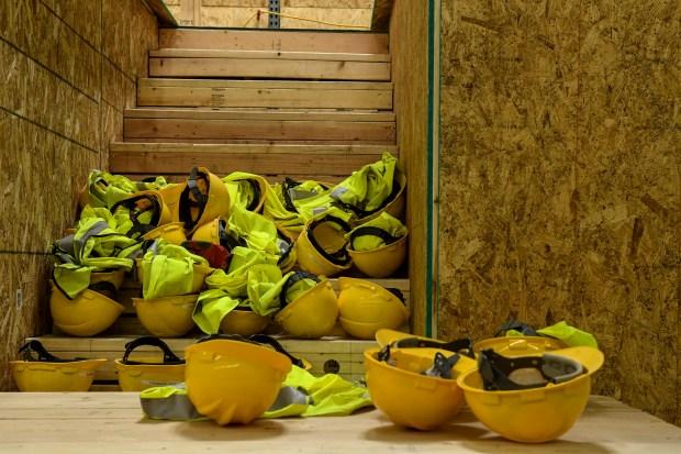 Helmets at Colorado Homebuilding Academy on ...