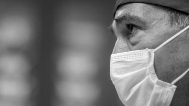 Dr. Frank Lansville, medical director of ...