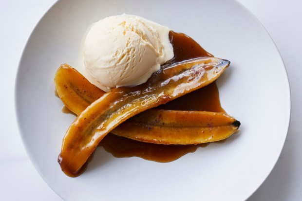 Bananas Foster in Sydney, May 7, ...