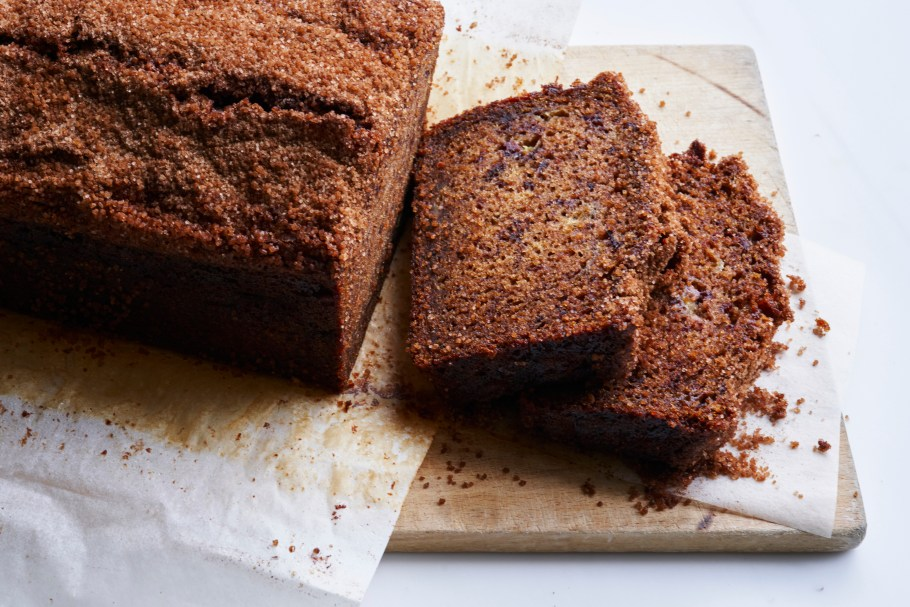 Cinnamon crunch banana bread in Sydney, ...