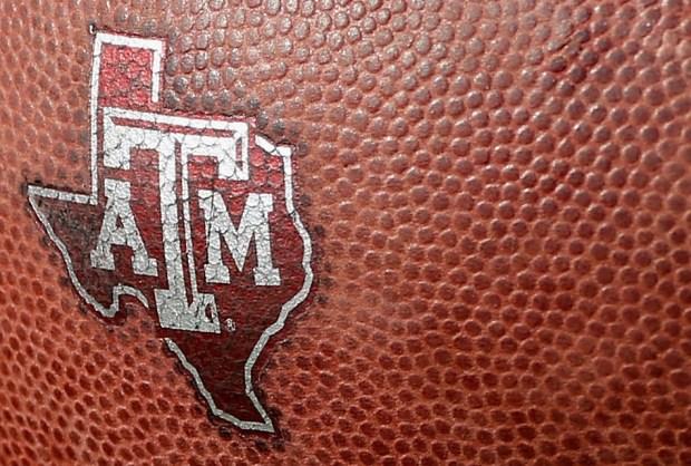 A Texas A&M Aggies logo is ...