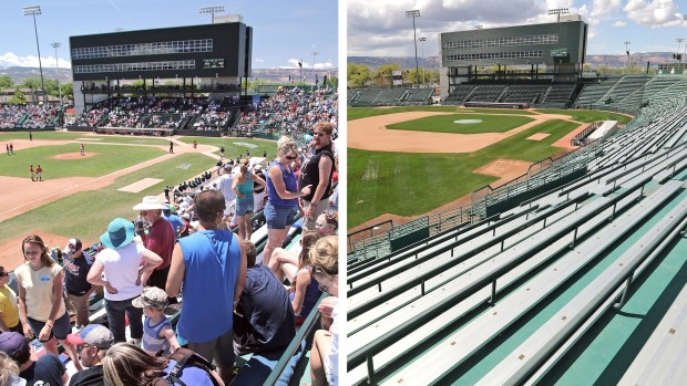 """As Colorado's minor league cities face """"economic and cultural void,"""" Grand Junction and Colorado Springs stakeholders hold out hope"""