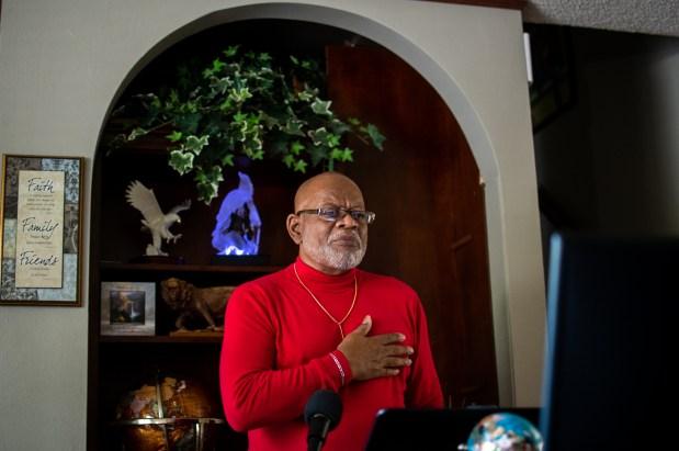 Dr. Thomas Mayes, a pastor at ...
