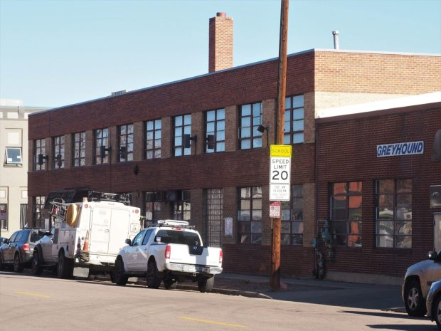 Three nearby residents who put in a notice of intent to submit a landmark application want to see the building at the corner of 25th and Curtis streets repurposed but not demolished.