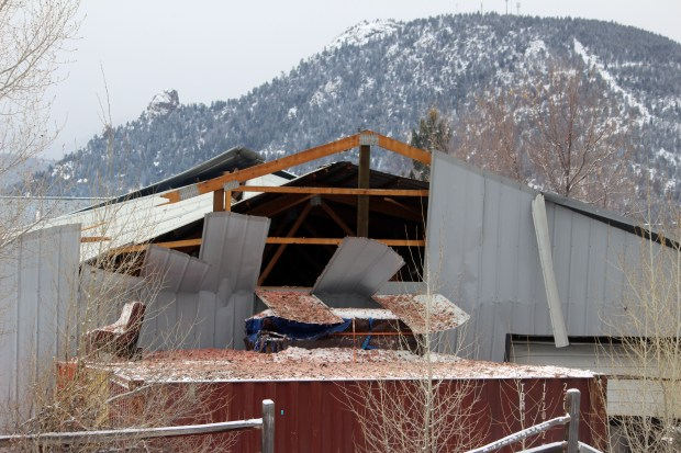 A possible explosion and fire injured three employees at Elkins Distilling Co. in Estes Park