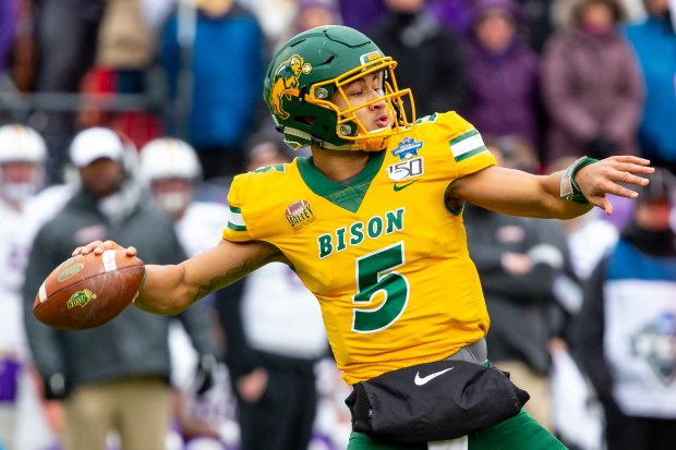 North Dakota State quarterback Trey ...