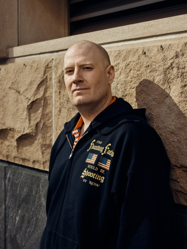 Cyrus Sullivan, who runs FoulSpeakers.com, in ...