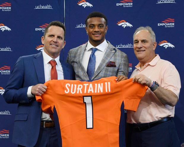 Denver Broncos first round draft pick, ...