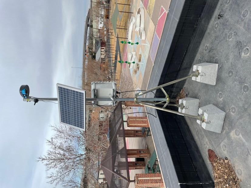 One of Denver's newly deployed electronic ...