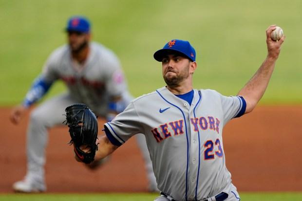 New York Mets starting pitcher David ...
