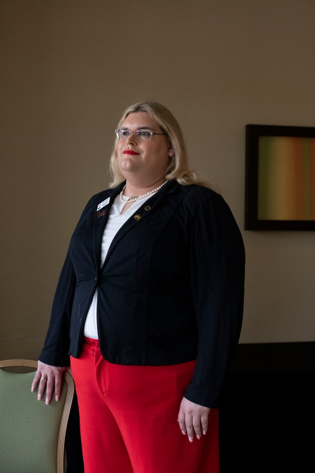 Ashley Shade, chairwoman of Outright Libertarians, ...