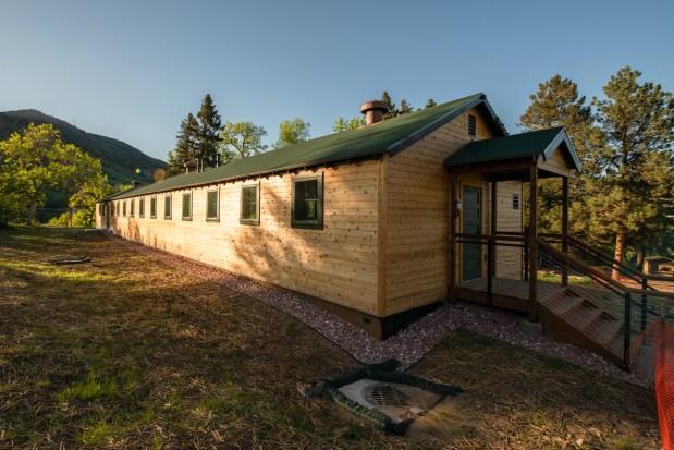 This 1930s-era Civilian Conservation Corps building ...