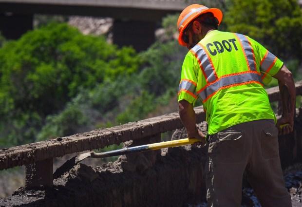 Colorado Department of Transportation crews make ...