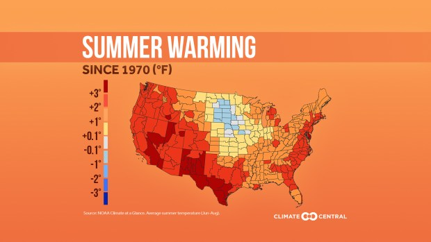 2020SummerPackage AvgT CONUS en title lg - Why are Colorado's summers getting hotter? It's climate change