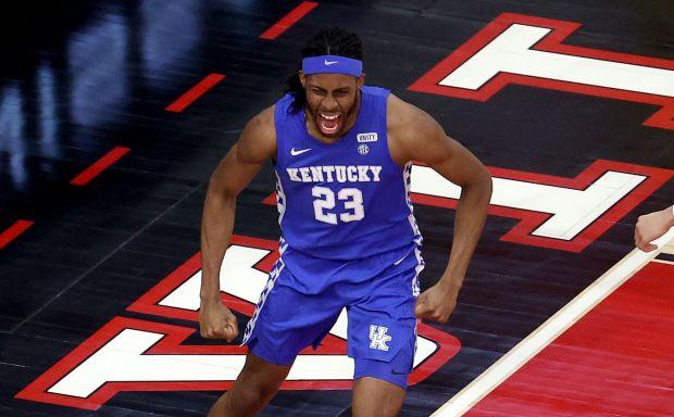 Isaiah Jackson #23 of the Kentucky ...
