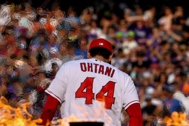 Shohei Ohtani of the Anaheim Angles ...