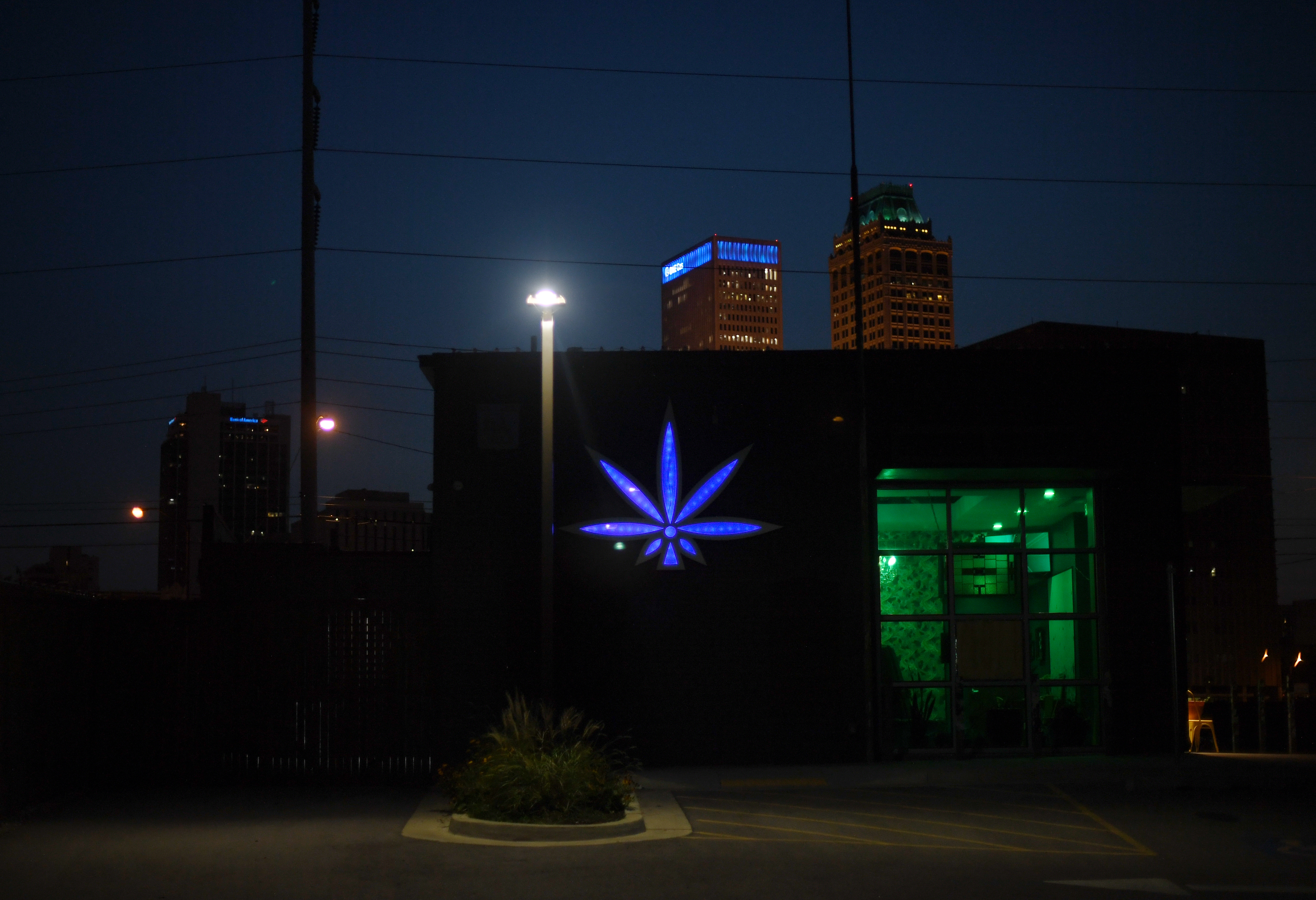 A downtown dispensary stays open after ...