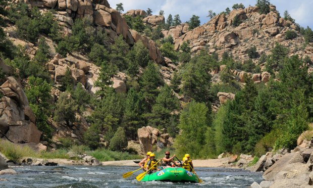 With Wilderness Aware Rafting in Buena ...