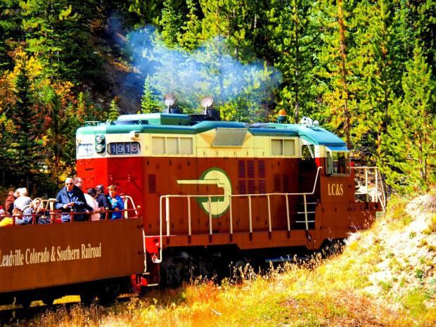 Climb aboard the Leadville Colorado & ...