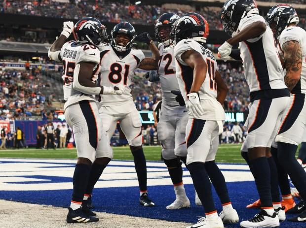 Denver Broncos running back Melvin Gordon ...