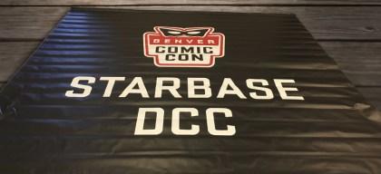 denver comic con starbase banner