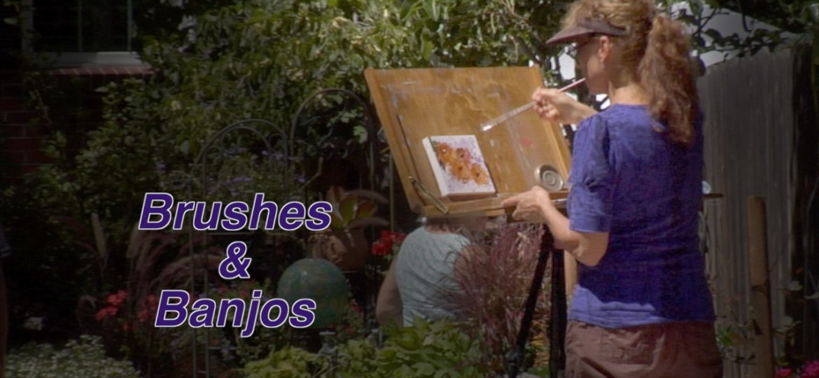 "Video Profile of an Art Event | ""Brushes & Banjos"""