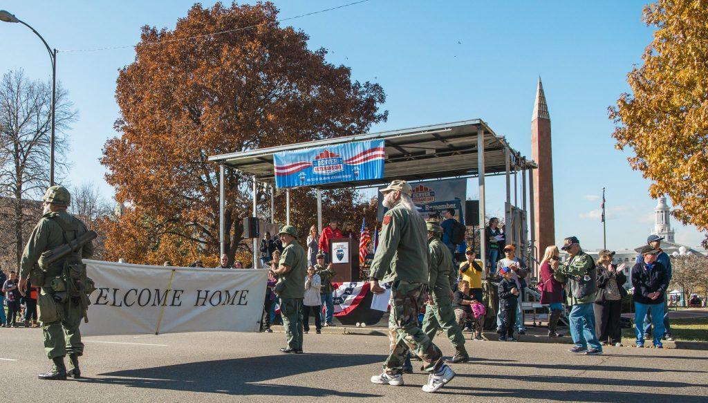 Denver Veterans Day Parade November 10 2018 Downtown Denver