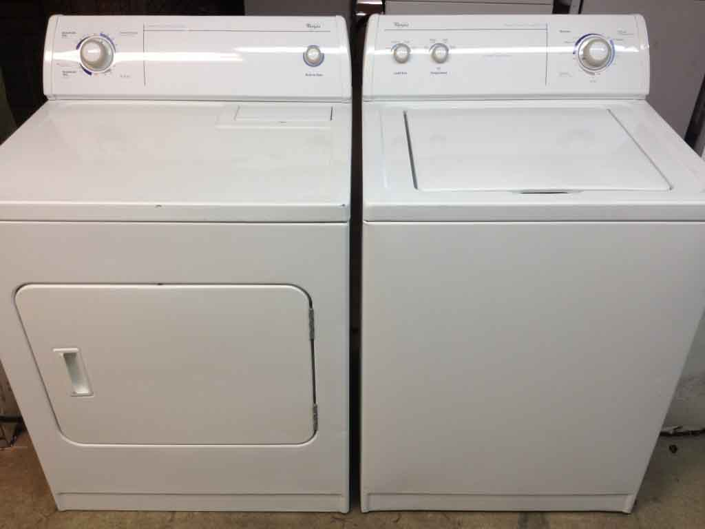 Washer And Dryers Washer And Dryer Whirlpool