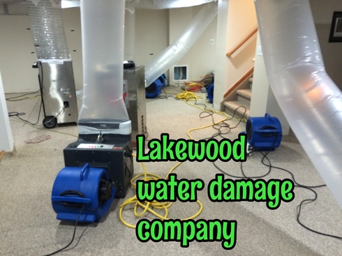 Lakewood water damage company