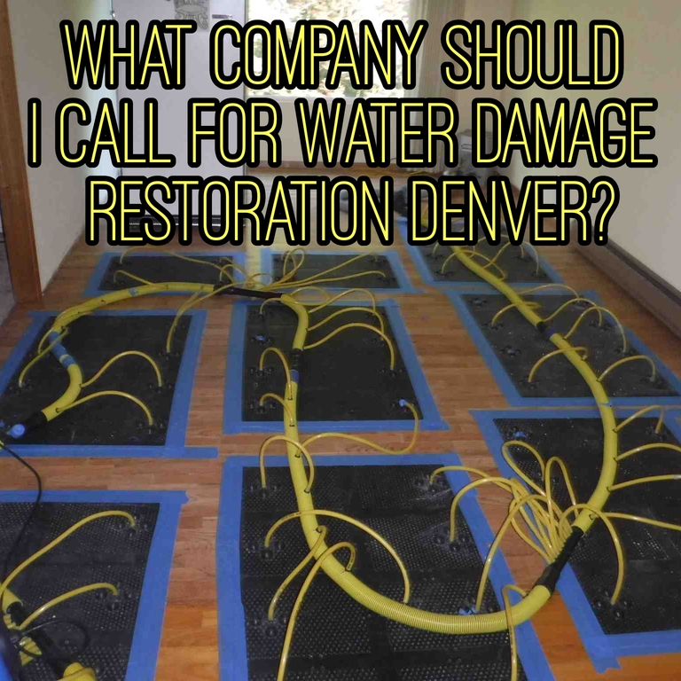 Water Damage Restoration Denver