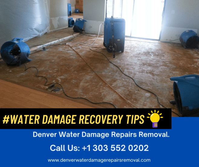 Water Damage Recovery Tips - Frozen Pipes Denver