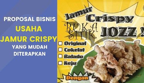 Contoh Proposal Usaha Jamur Crispy