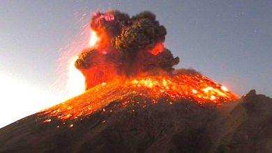 Photo of Explosión en el Popocatépetl