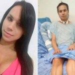 Transexual sofre atentado na Bahia e fica tetraplégica.