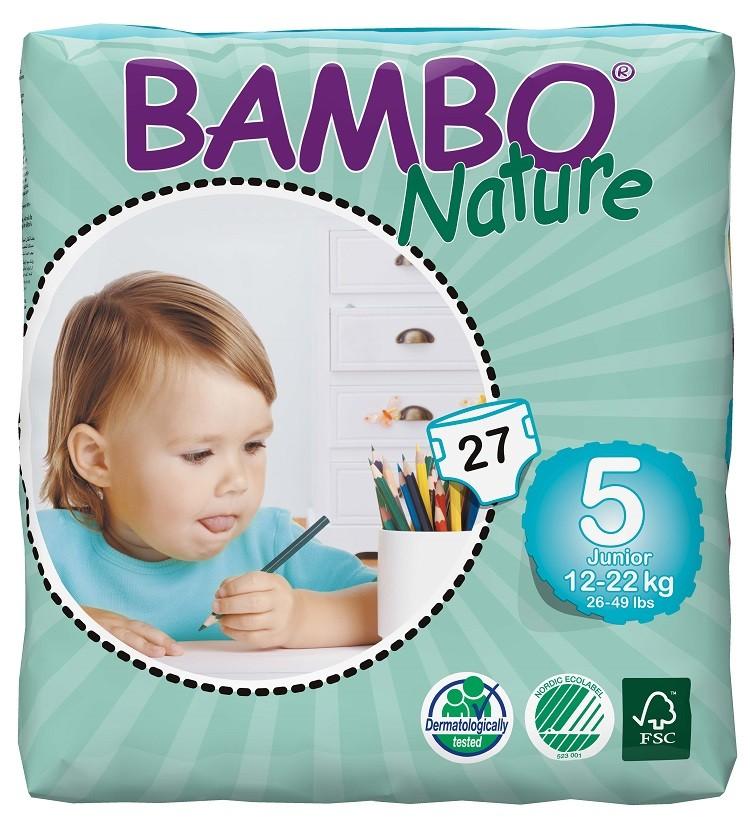 Bambo Nature Luiers 5 Junior 12-22kg