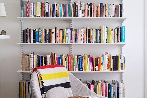 Libros + libreros ¡la decoración perfecta!