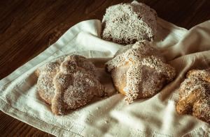 depa de soltera pan de muerto receta