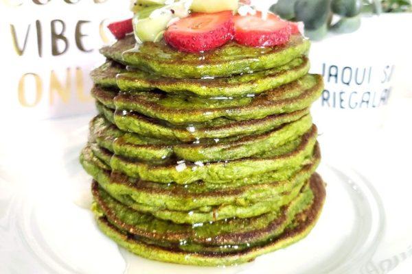 RECETA: Hotcakes de espinaca