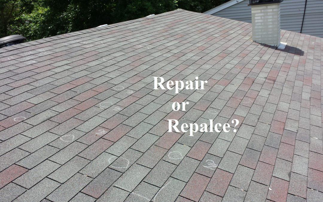 Recover, Replace or Repair?