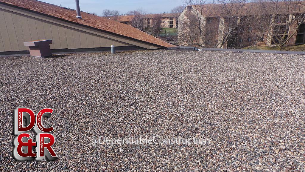 Ballast roof