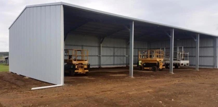 Farm Rural Open Front Sheds
