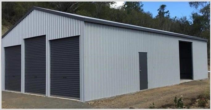 Welded Portal Frame Sheds and Garages for Sale