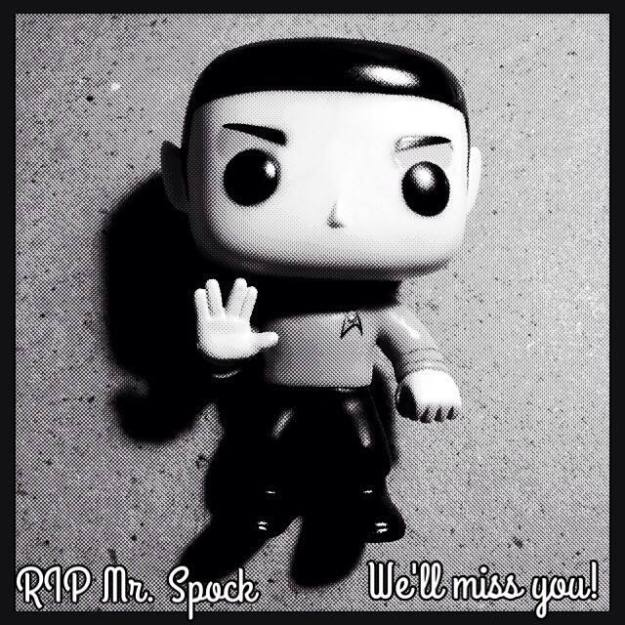 leonar nimoy, mr. spock, star trek, depepi.com, goodbye, llap