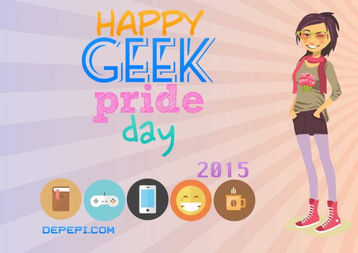 geek, nerd, geek pride, geek pride day, depepi, depepi.com