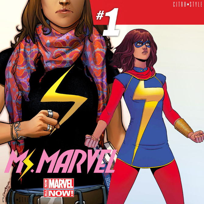 kamala khan, ms. marvel, depepi.com