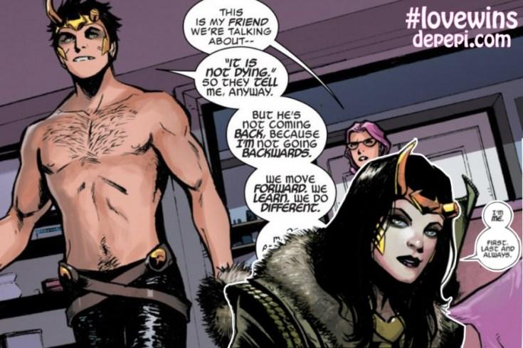 loki, loki's army, #lovewins, US, LGBTQ, LGBTQ characters in comics, LGBTQ representation, depepi, depepi.com