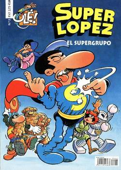super lopez, superman, depepi, depepi.com, comic thorsday, comics