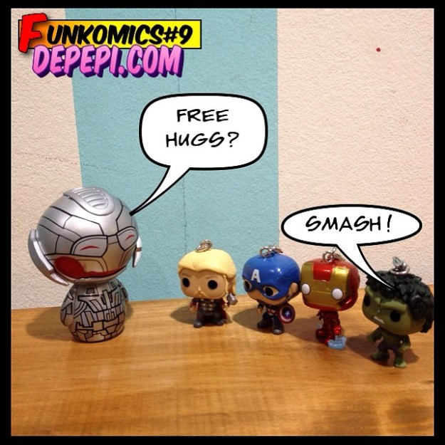 funkomics, comics, webcomics, funko, depepi, depepi.com, avengers, captain america, iron man, civil war