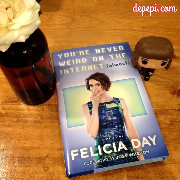 felicia day, you're never weird on the internet, depepi, depepi.com