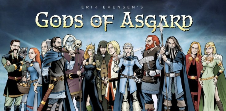 gods of asgard, loki, loki's army, loki of asgard, comics, graphic novel, depepi, depepi.com